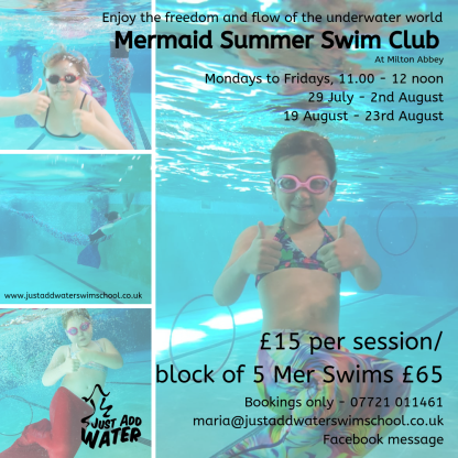 Mermaid Summer Swim Club
